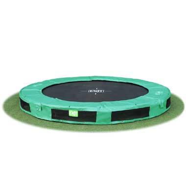 Exit InTerra trampoline groen 244