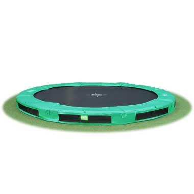 Exit InTerra trampoline groen 366
