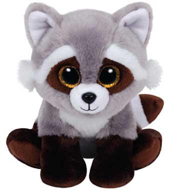 Ty Beanie Boo knuffel Bandit - 15 cm