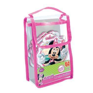 Jumbo 4-in-1 badpuzzel Disney Minnie Mouse