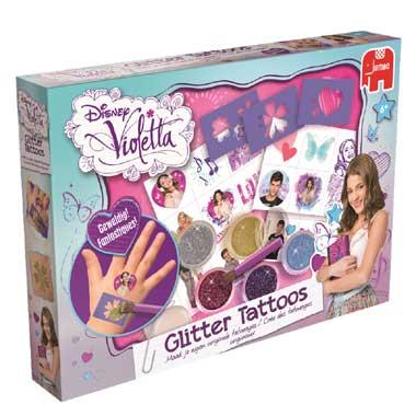 Jumbo Disney Violetta glitter tattoos