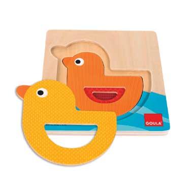 Jumbo puzzel Van groot naar klein eend