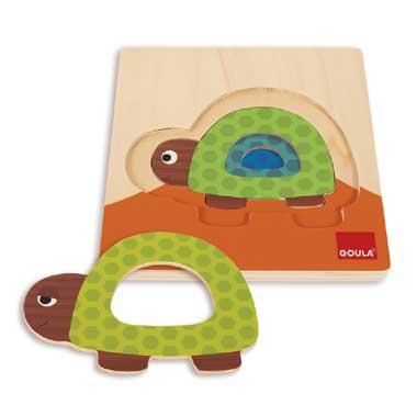 Jumbo puzzel Van groot naar klein schildpad