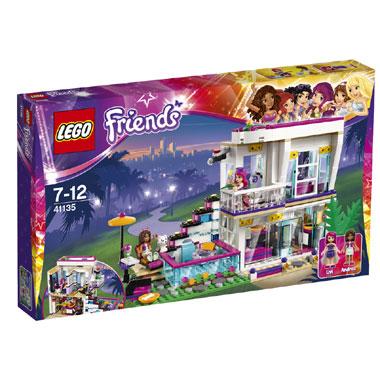 LEGO Friends Livi's popsterrenhuis 41135