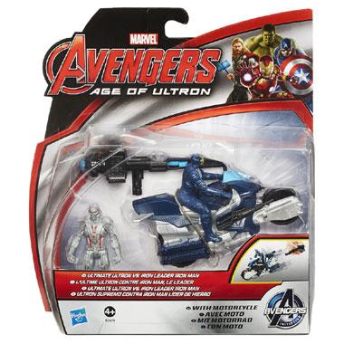Avengers 2-pack Ultron & Iron Man figuren