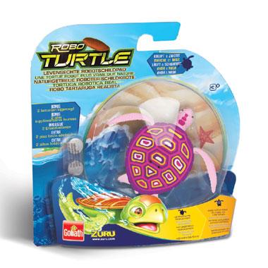 Robo Turtle - roze