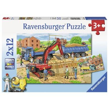 Ravensburger puzzelset huizenbouw - 12 stukjes