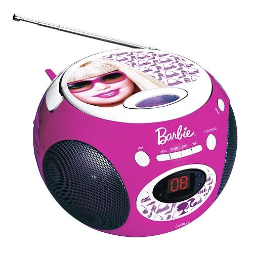 Barbie -  cd-speler met radio