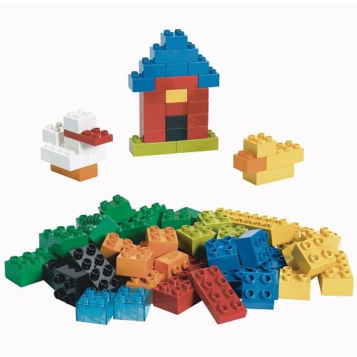 Lego duplo bouwtoebehoor - 6176 basic basisstenen deluxe