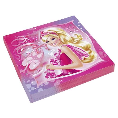 Barbie - partyservetten