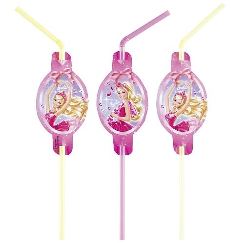 Barbie pink shoes - 8 rietjes