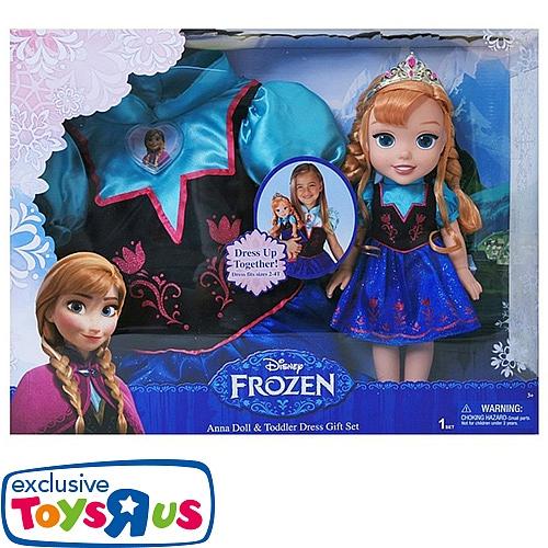 Disney frozen - kinderkostuum + pop anna