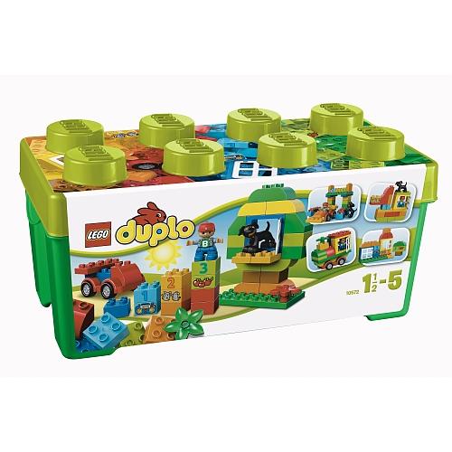 Lego duplo alles-in-éen doos vol speelplezier - 10572
