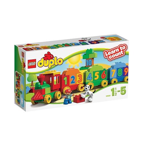Lego duplo - 10558 getallentrein