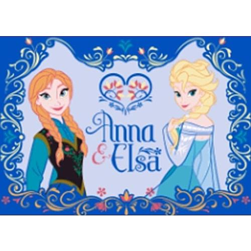 Disney frozen - vloerkleed anna en elsa