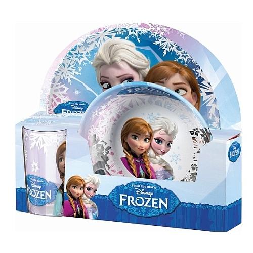 Disney frozen - anna en elsa ontbijtset melamine