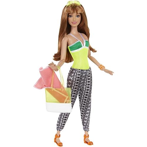 Barbie - deluxe vakantieplezier pop