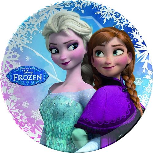 Disney frozen - bord anna & elsa