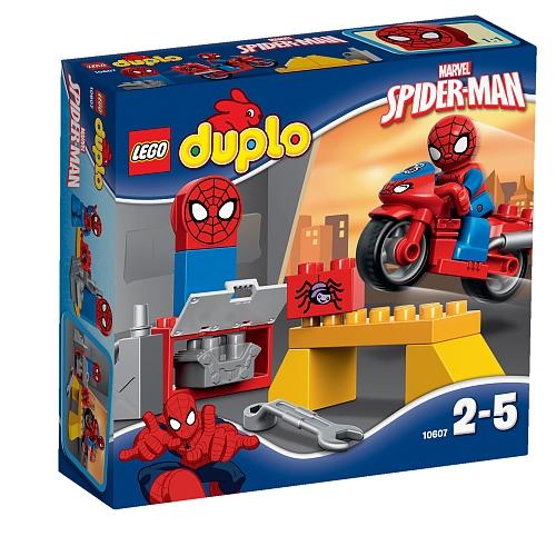 Lego duplo - 10607 spider-man webmotor werkplaats
