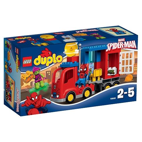 Lego duplo - 10608 spider-man spider truck avontuur