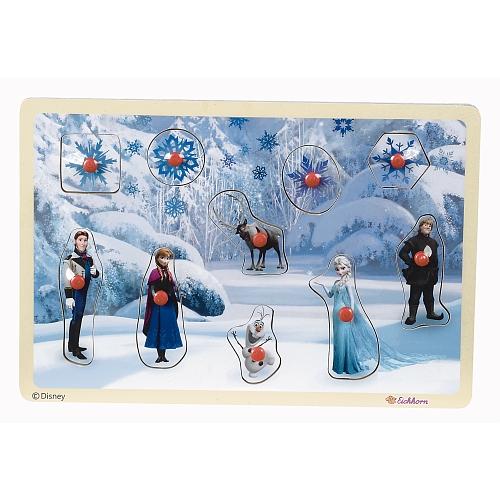 Disney frozen - inlegpuzzel