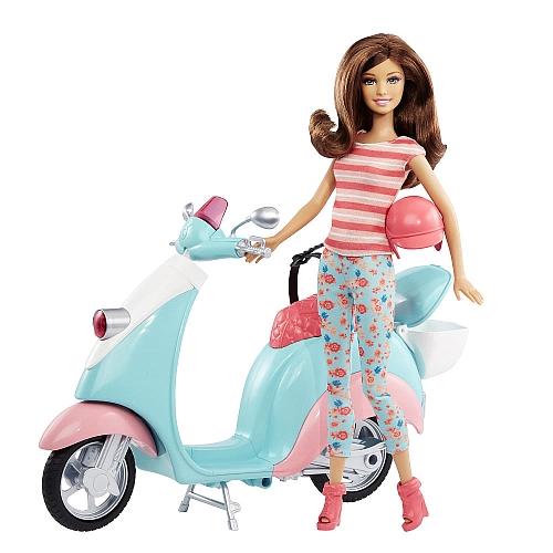 Barbie - teresa + scooter