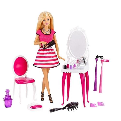 Barbie - pop met kaptafel