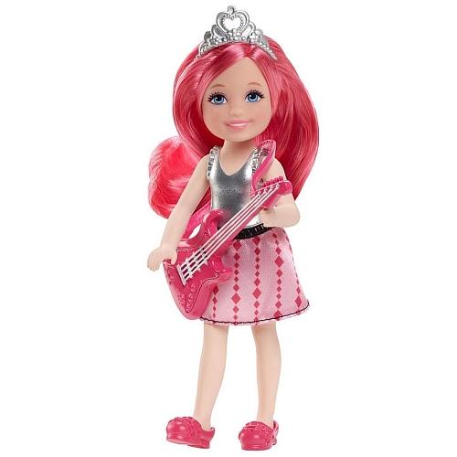 Barbie - chelsea pink met gitaar