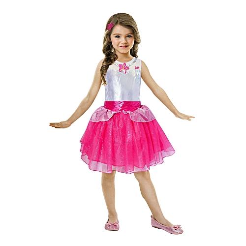 Barbie - kinderkostuum rock & royals value jurk