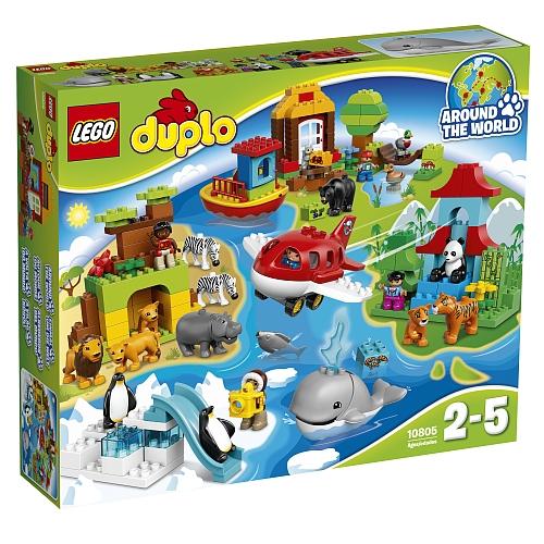 Lego duplo stad - 10805 rond de wereld