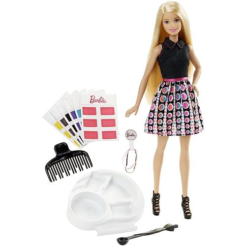 Barbie - haarkleur toveren