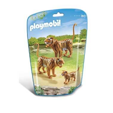 PLAYMOBIL tijgers met welp 6645