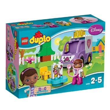 LEGO DUPLO Doc McStuffins: Rosie de ambulance 10605