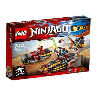 LEGO Ninjago Ninja motorachtervolging 70600