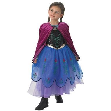 Disney Frozen Anna verkleedjurk - maat 116/128