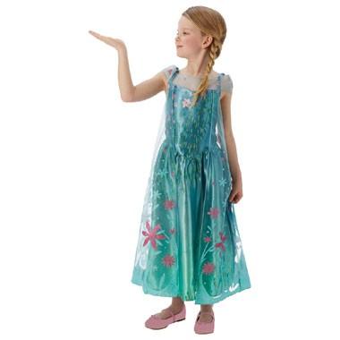 Disney Frozen Elsa Fever verkleedjurk - maat 128/140