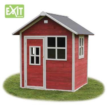 EXIT speelhuis Loft 100 - rood