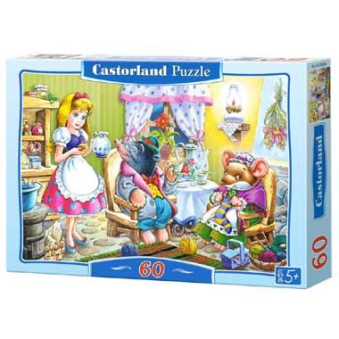 Castorland puzzel Thumbelina - 60 stukjes