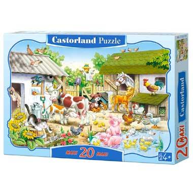 Farm puzzel 20 maxi stukjes
