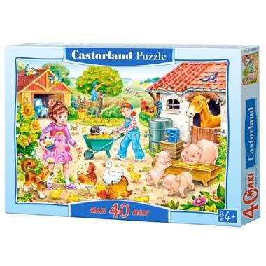 Farm puzzel 40 maxi stukjes