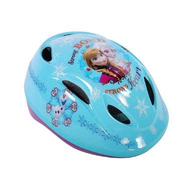 Disney Frozen fiets/skatehelm - blauw