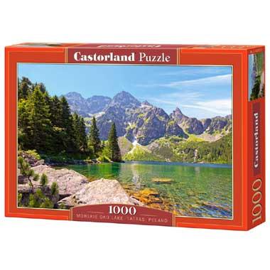 Morskie Oko Lake Tatras Poland puzzel 1000 stukjes