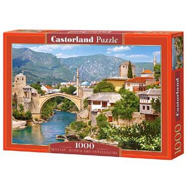 Mostar Bosnia and Herzegovina puzzel 1000 stukjes