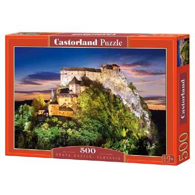 Orava Castle Slovakia puzzel 500 stukjes