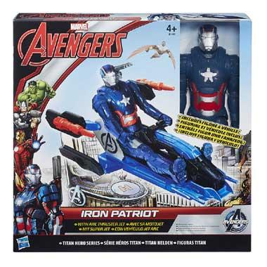 Avengers Titan met voertuig - 30 cm