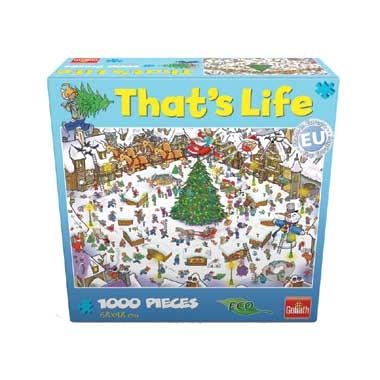 That's Life puzzel kerst - 1000 stukjes