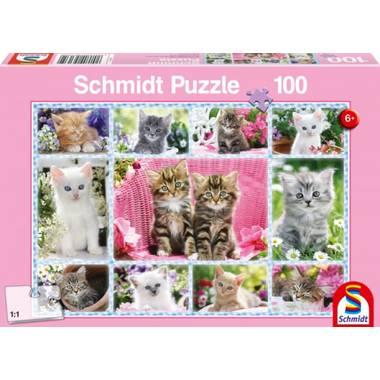 Schmidt puzzel Kittens 100 stukjes
