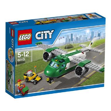 LEGO City vliegveld vrachtvliegtuig 60101
