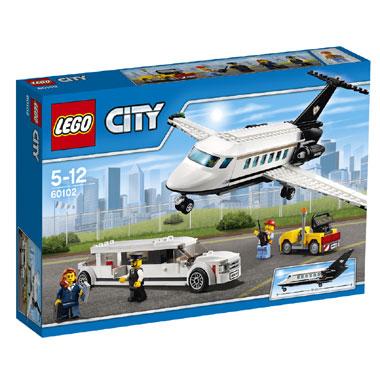LEGO City vliegveld VIP service 60102