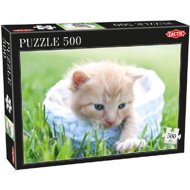 Tactic puzzel poes - 500 stukjes